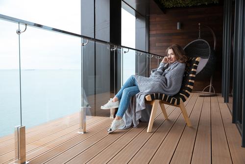 Pod oga na balkonie i tarasie porady leroy merlin - Balkon bescherming leroy merlin ...