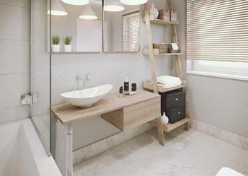 przechowywanie w azience czyli jak optymalnie wykorzysta przestrze azienki porady leroy. Black Bedroom Furniture Sets. Home Design Ideas