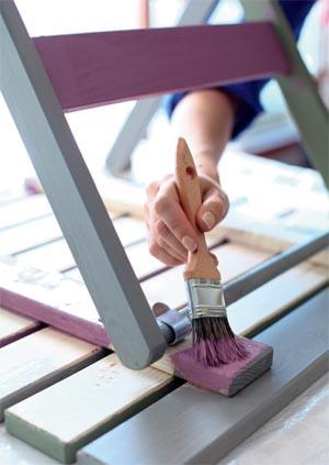 Tylko na zewnątrz Kolorowe meble na balkon - porady Leroy Merlin TR75